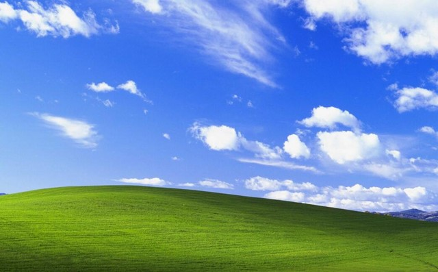 windows xp系统的桌面
