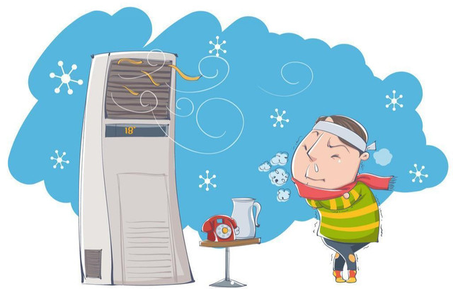 别以为空调啥都好!使用不当能把你吹面瘫!
