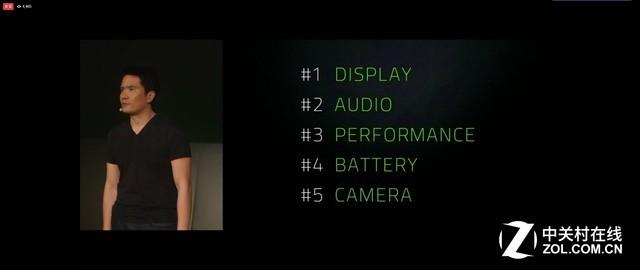 Razer机皇发布:120Hz屏幕8G内存 或定义电竞手机