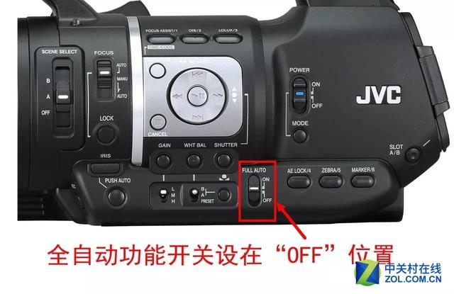 唯美虚化 JVC HM360光圈调节操作解析