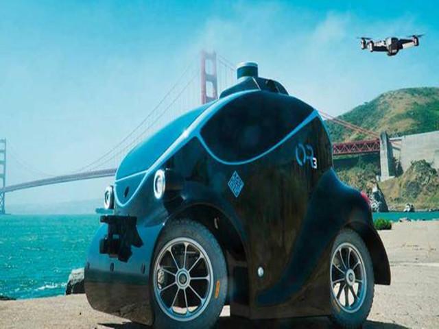 壕!迪拜无人驾驶巡逻车还能搭载无人机