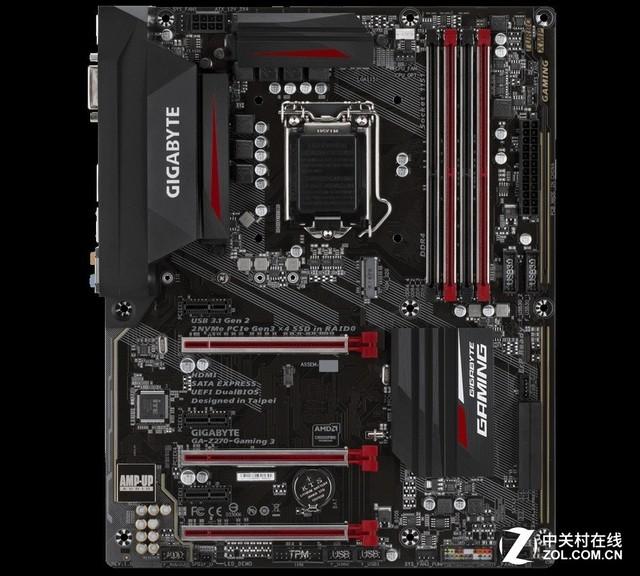 性价比装机必备 技嘉Z270-Gaming 3热卖