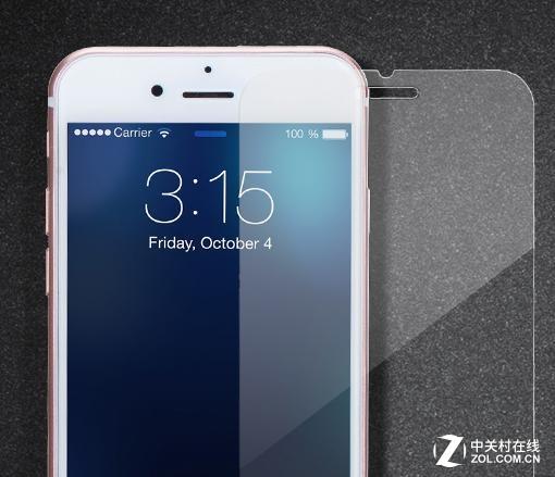 防爆0.2mm超薄清 摩米士iphone7钢化膜