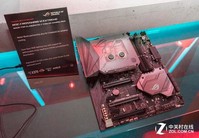 华硕全新X299 X399主板引领COMPUTEX