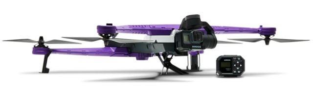 内置激光雷达:Airdog ADII无人机显身手