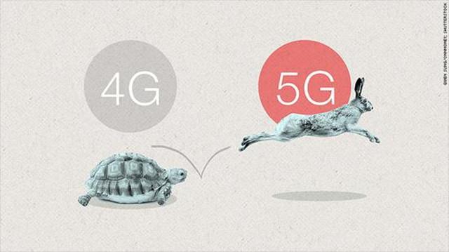 5G手机网络是啥样?乌龟到兔子的转变