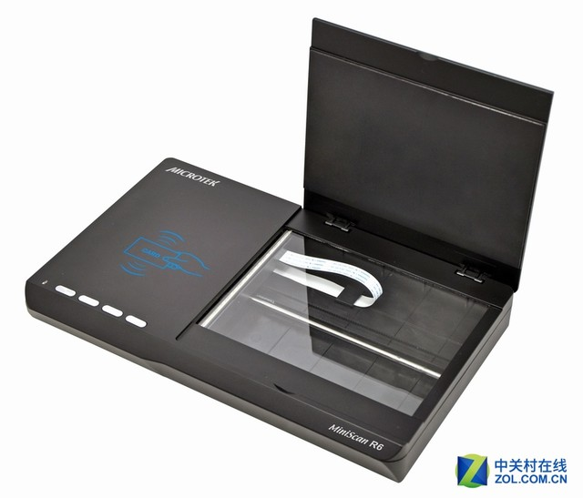 身份证扫描识别 看中晶MiniScan R6高效