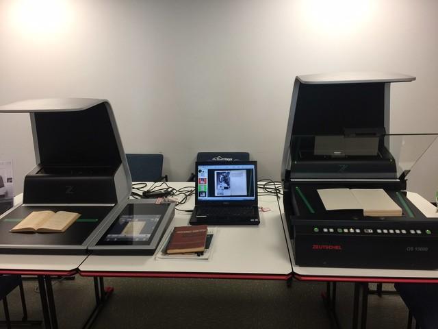 书刊扫描仪--古籍档案数字化