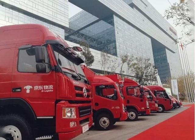 京东物流引入史上最大规模新能源车队