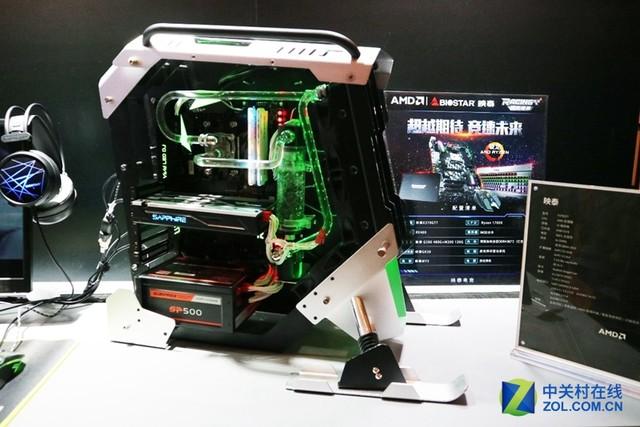 雪地摩托机箱 亮相北京AMD创新技术峰会