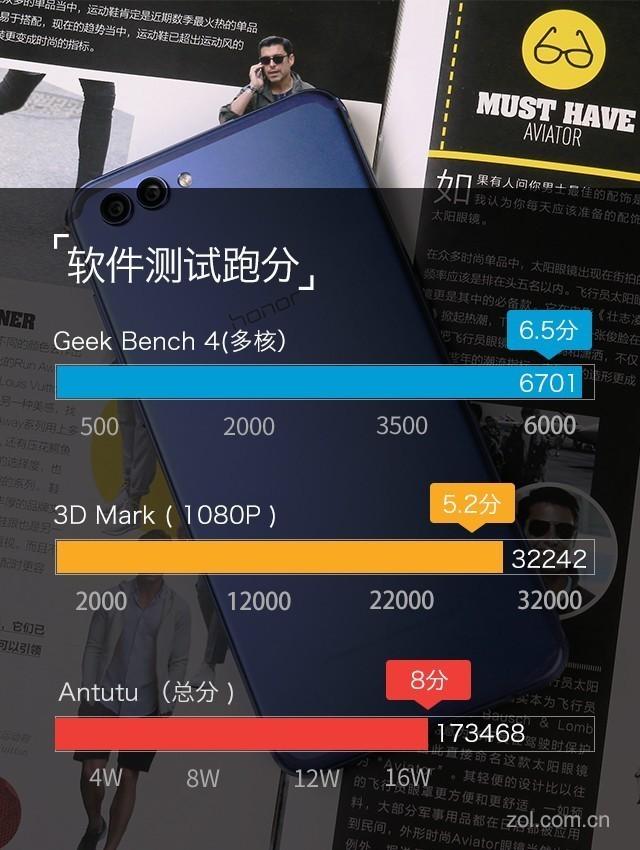 荣耀V10评测:小米MIX2最强全面屏对手