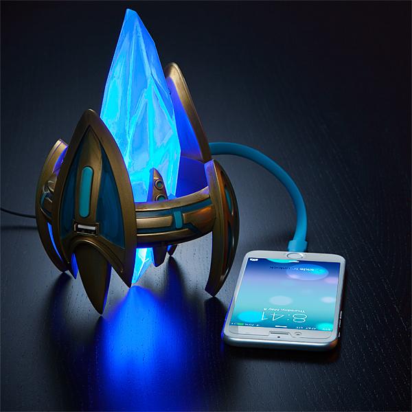 星际争霸神族水晶塔移动电源