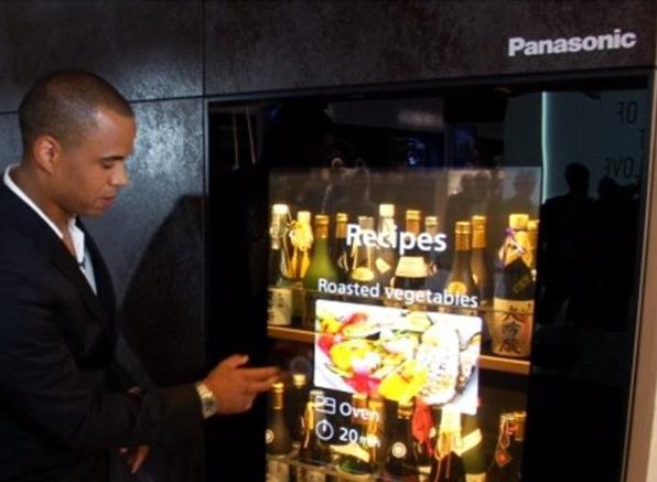 又见黑科技 松下这电视不用时变成玻璃
