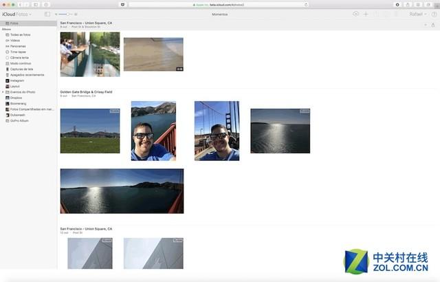 全新设计的 iCloud.com 照片网页应用正式上线