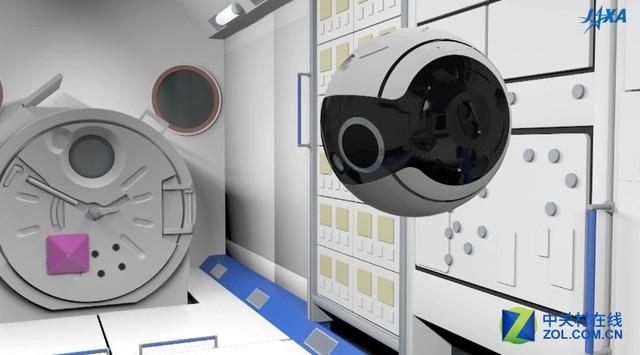 超萌摄像机 国际空间站迎新拍摄机器人
