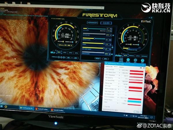 索泰自曝非公版GTX 1080Ti:温度惊喜
