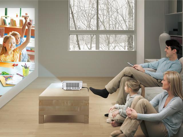 未来家居是怎样 最实用的家用投影推荐