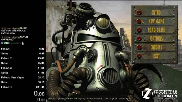 真·大神 1.5小时通关《辐射》全系列