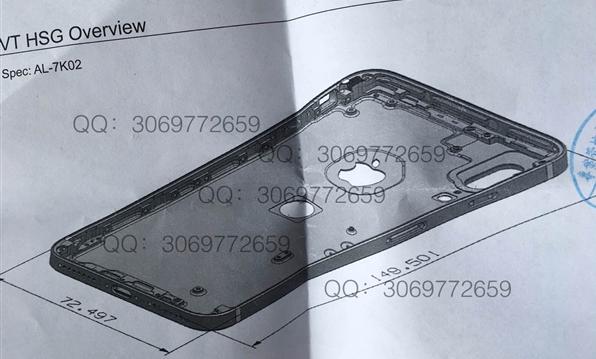 苹果iPhone8图纸曝光 销量这是要逆天