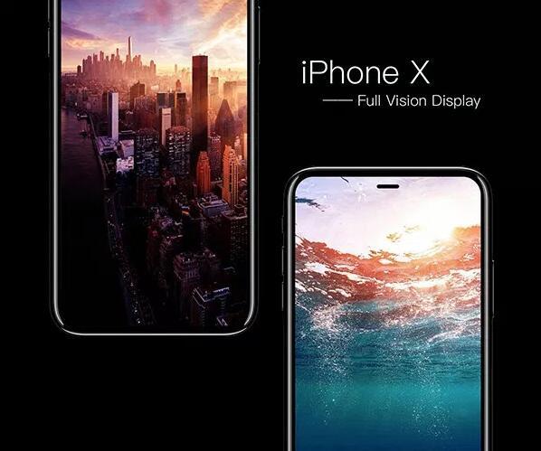 iPhone X概念设计又来 全视野无边框超美