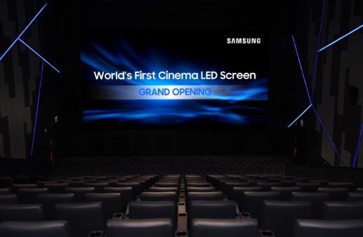 影院将告别投影机?世界首块影院LED屏Go