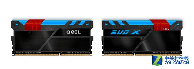 金邦推出DDR4全彩独立发光 EVO X 内存