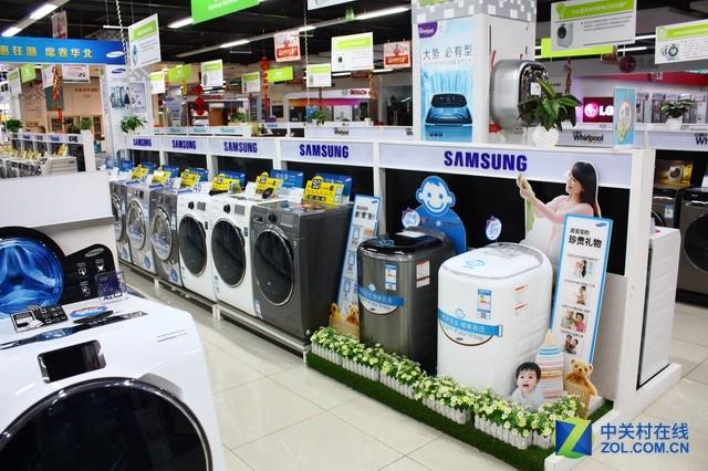家电大数据:滚筒洗衣机已占据半壁江山