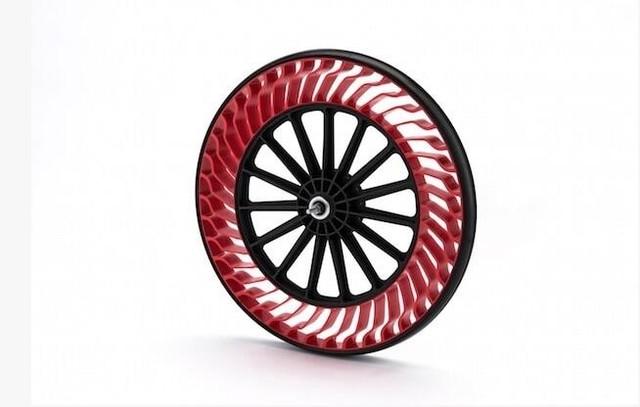 自行车轮胎告别打气 Air Free概念轮胎
