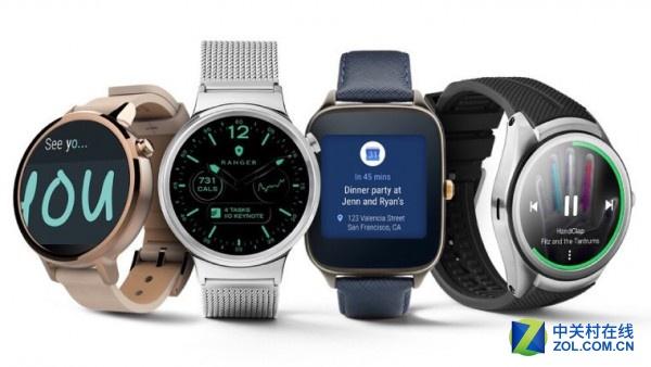 谷歌公司公布Android Wear 2.0升级名单