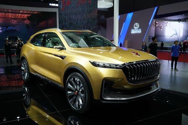 2017上海车展:红旗U-concept概念车发布