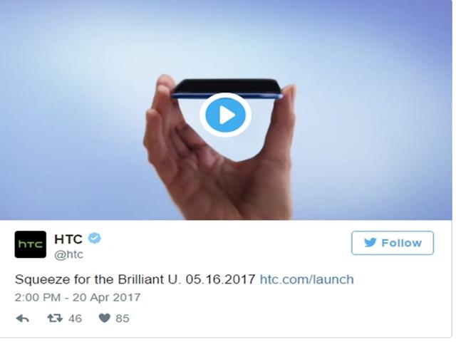 HTC宣布5月16日发新机:或是旗舰机Ocean