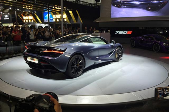 2017上海车展:迈凯伦720S国内首发