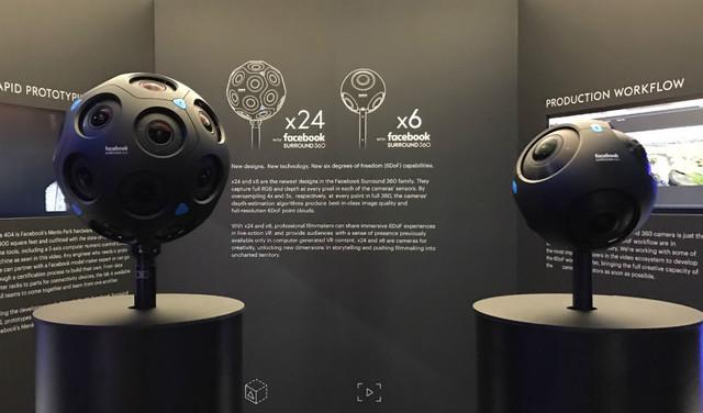 Facebook将在年底推两款360度全景相机
