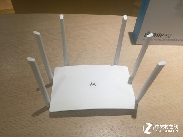全千兆提速智能家庭 摩路由M2正式发布