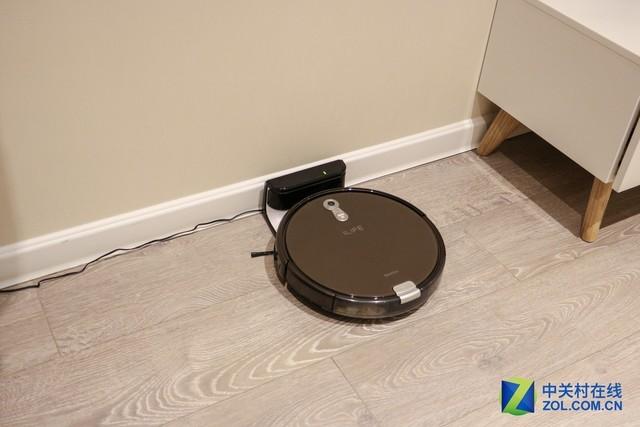 真智能更干净 ILIFE扫地机器人评测体验