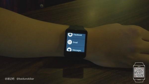 诺基亚智能手表实物曝光照