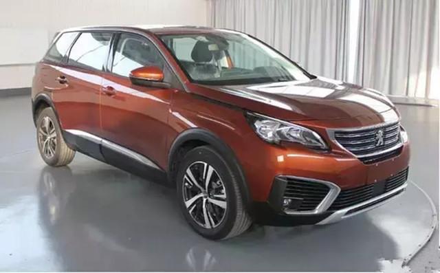 标致5008 3月30日国内首发 7座中型SUV