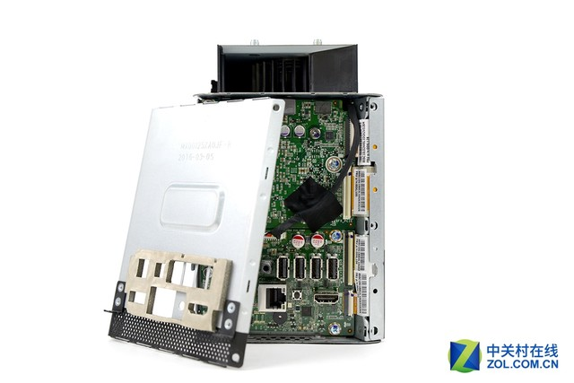 小机箱大内涵 联想投影电脑610s拆解