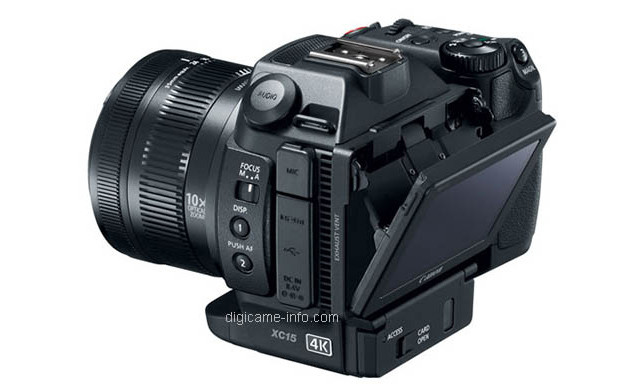 4K摄像新选择 佳能即将发布XC15摄像机