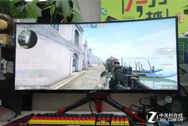 超宽畅游戏 游戏悍将PF35FC显示器评测
