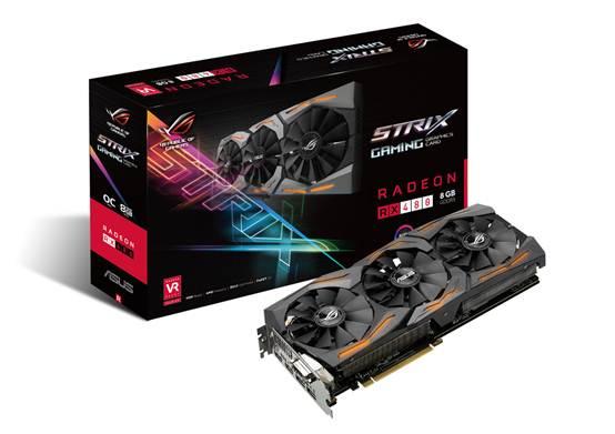 高效散热 华硕STRIX RX480显卡售2299元