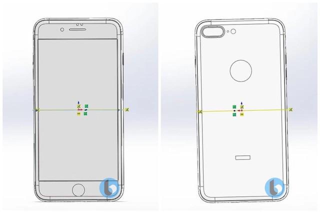 CAD文件曝光 iPhone7s系列玻璃后壳确认