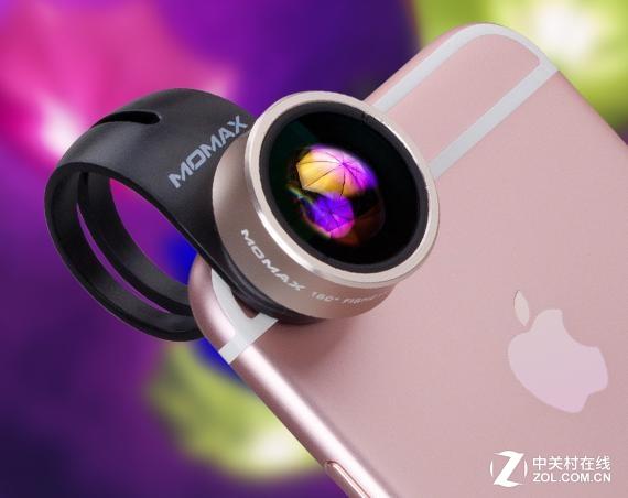 拍照添趣味 摩米士6S手機2合1特效鏡頭