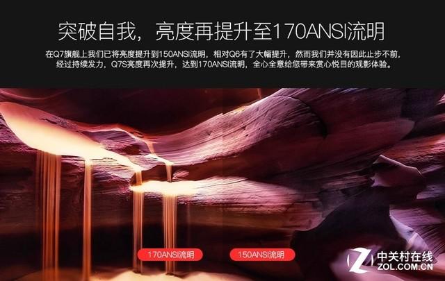 六大升级!酷乐视Q7S手持投影京东首发