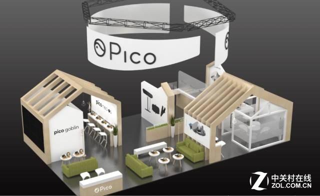 "Pico""小怪兽""与您相约CES Asia 2017"