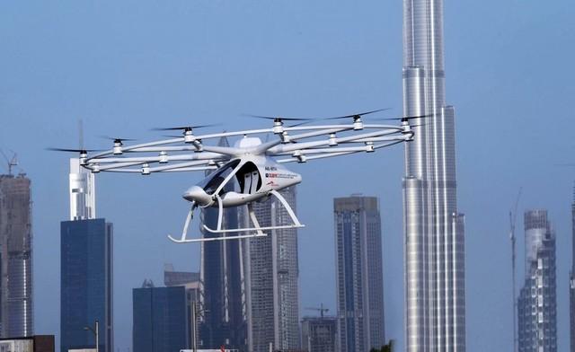 这不是科幻电影 迪拜飞行出租车来啦!