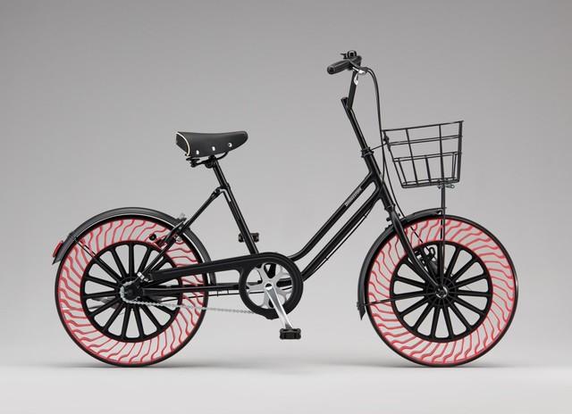 普利司通福利 未来电动车轮胎免充气全靠它