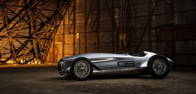 基于复古赛车打造 英菲尼迪电动车明年亮相