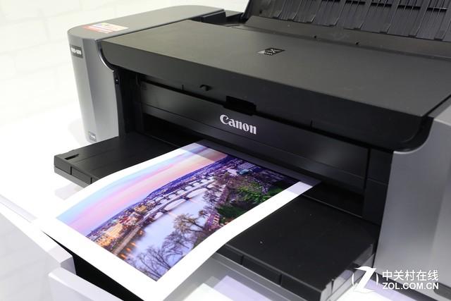 从输入到输出 P&E佳能打印机展台详解