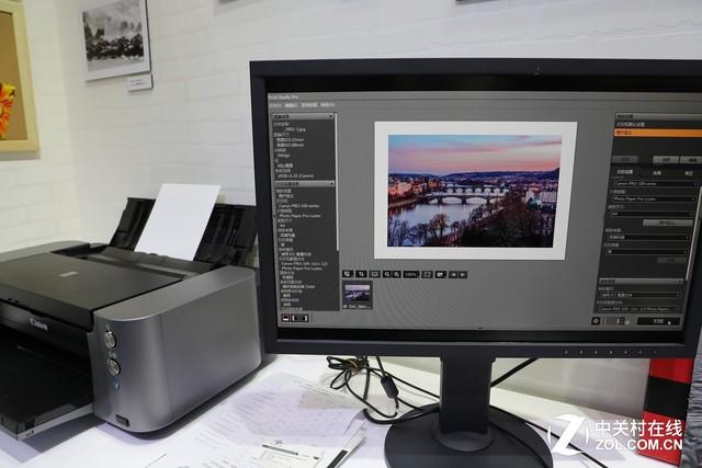 专业输出触手可及 佳能PRO-100打印机试用